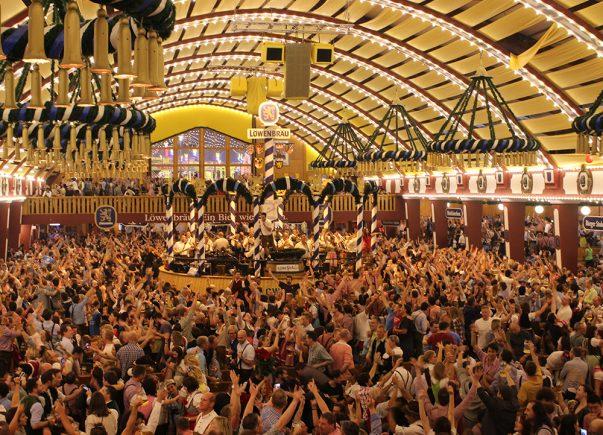 Oktoberfest Atmosphere